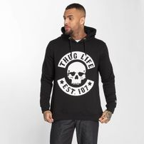 Thug Life / Hoodie B.Skull in black