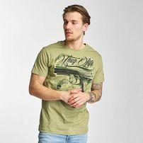 Thug Life No Reason T-Shirt Olive