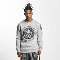 Thug Life / Pullover Barley in gray