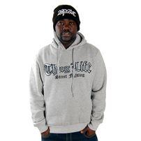 Thug Life Street Fighting Hoodie Grey TLF12HD08-400
