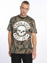 Thug Life / T-Shirt B. Camo in camouflage