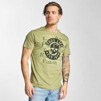 Thug Life Violance T-Shirt Olive