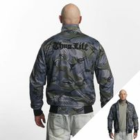Thug Life / Winter Jacket Wired in grey