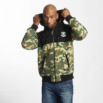 Thug Life / Zip Hoodie Wired in camouflage