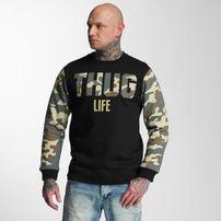Thug Life Zombi Sweatshirt Camouflage