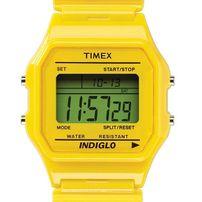 Timex 80 Classic Watch Sheen Yellow Headspin