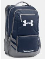 UNDER ARMOUR Hustle Backpack II Midnight Navy / Graphite