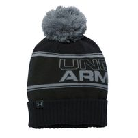 Under Armour Pom Beanie Black Olive