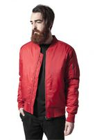 Urban Classics Basic Bomber Jacket fire red