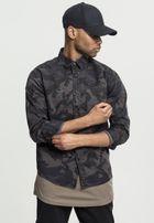 Urban Classics Camo Shirt darkcamo