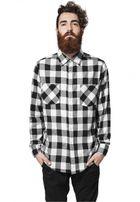 Urban Classics Checked Flanell Shirt blk/wht