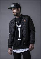Urban Classics Diamond Quilt Nylon Jacket black
