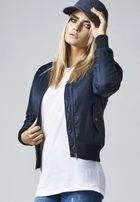 Urban Classics Ladies Basic Bomber Jacket navy