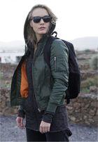 Urban Classics Ladies Basic Bomber Jacket olive