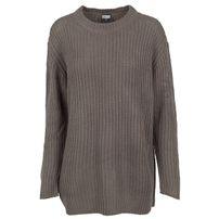 Urban Classics Ladies Basic Crew Sweater army green