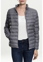 Urban Classics Ladies Basic Down Jacket darkgrey
