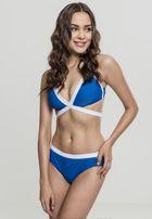 Urban Classics Ladies Contrast Bikini roy/wht