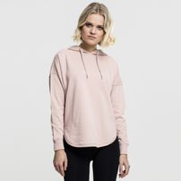 Urban Classics Ladies Oversized Terry Hoody light rose