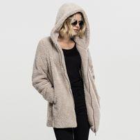 Urban Classics Ladies Sherpa Jacket sand