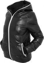Urban Classics Ladies Shiny Bubble Jacket blk/wht