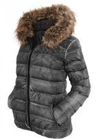 Urban Classics Ladies Spray Dye Winter Jacket black