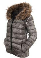 Urban Classics Ladies Spray Dye Winter Jacket grey