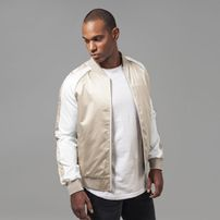 Urban Classics Souvenir Jacket gold/offwhite