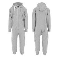 Urban Classics Sweat Jumpsuit Grey White