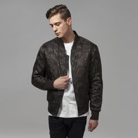 Urban Classics Tonal Camo Bomber Jacket darkolive
