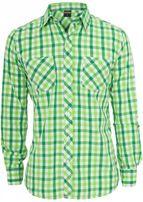 Urban Classics Tricolor Big Checked Shirt cgrwhtlgr