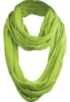Urban Classics Wrinkle Loop Scarf limegreen