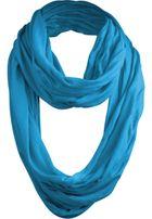 Urban Classics Wrinkle Loop Scarf turquoise