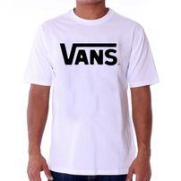 Vans MN Vans Classic T-shirt White Black VGGGYB2