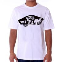 Vans MN Vans OTW T-shirt White Black VJAZZB2