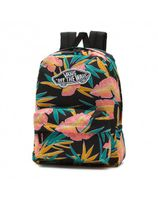 VANS WM REALM BACKPACK BLACK TROPIC