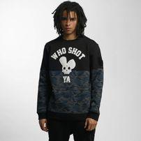 Who Shot Ya? Darkcamou Sweatshirt Black