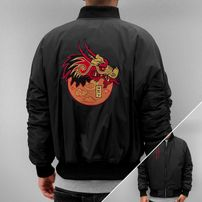 Who Shot Ya? Dragon Jacket Black