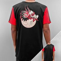 Who Shot Ya? Dragonpower T-Shirt Black/Red