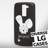 Who Shot Ya? / Mobile phone cover Bunny Logo LG in black