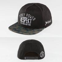 Who Shot Ya? Respekt Snapback Cap Black