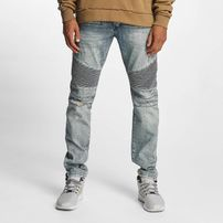 Who Shot Ya? Scissa Antifit Jeans Light Blue Denim