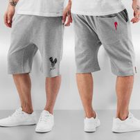 Who Shot Ya? Shorts Grey Melange