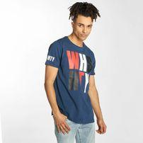 Who Shot Ya? / T-Shirt WHSHTY in blue