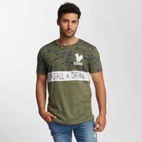 Who Shot Ya? Wonderful T-Shirt Olive/Camouflage