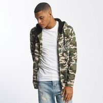 Who Shot Ya? / Zip Hoodie Camo in camouflage