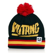 Wu-Tang Bee Logo Beanie Black Yellow