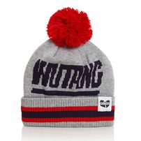 Wu-Tang Bee Logo Beanie Grey Black