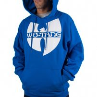 Wu-Wear Clan Logo Hoodie Royal Blue