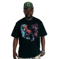 Wu-Wear GZA Liquid Swords T-shirt Black