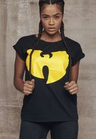 Wu-Wear Ladies Wu-Wear Logo Shirt black